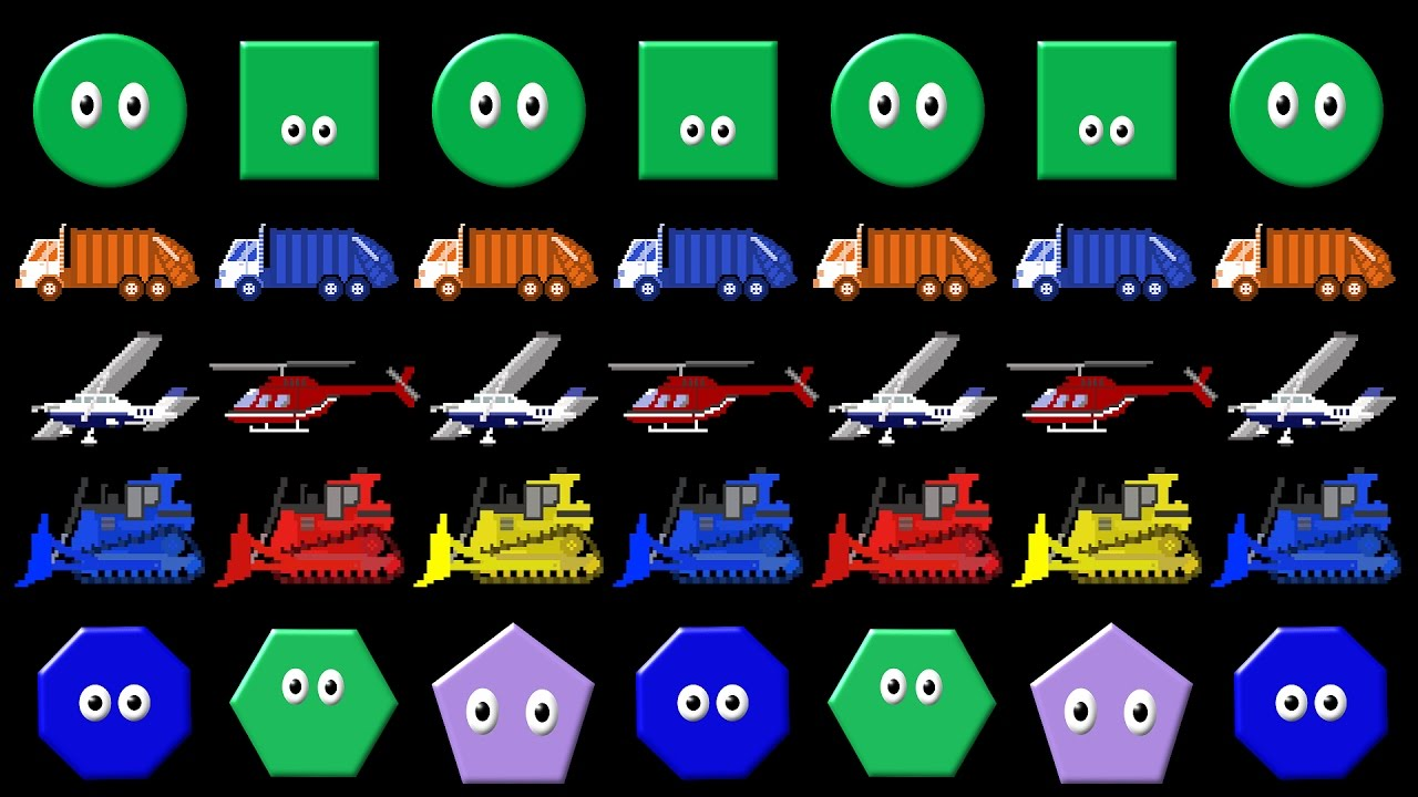 Patterns Collection Abab Abc Patterns With Shapes Colors Vehicles The Kids Picture Show Youtube Abc Patterns Abc Picture Show [ 720 x 1280 Pixel ]