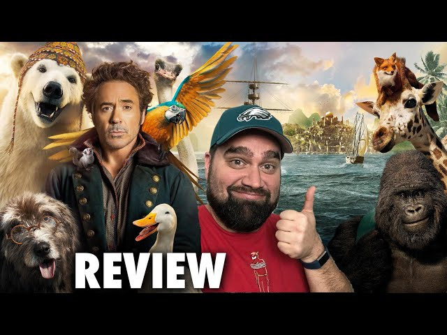 Dolittle Review - A Fun Family Film & Doesn't Deserve All the Hate