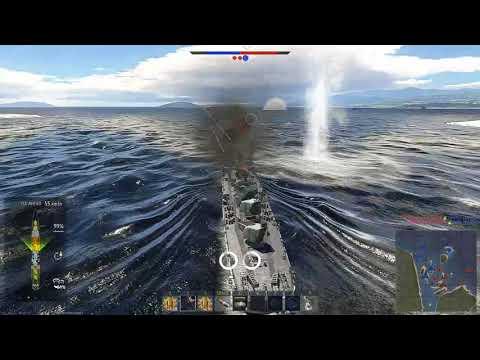 US Navy - American USS FLETCHER Destroyer  ( WAR THUNDER NAVAL FORCES )