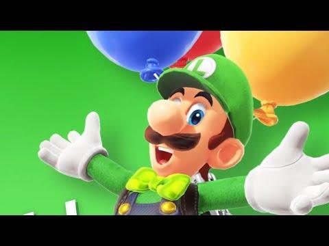 Download Youtube: Super Mario Odyssey Luigi's Balloon World Update + New Outifts!