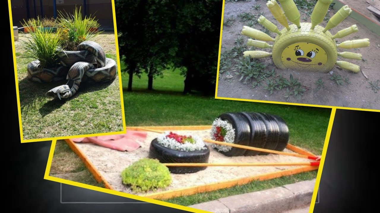 Tire Recycling 65 Amazing Diy Tire Projects Youtube