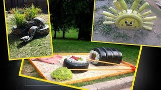 TIRE RECYCLING – 65 AMAZING DIY TIRE PROJECTS
