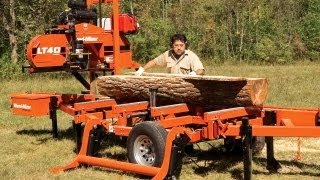 Wood-mizer Lt40 Hydraulic Portable Sawmill: The Industry's Proven Workhorse