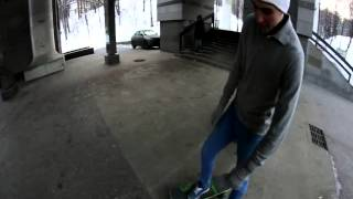 vsenadosku.ru Тренинг: Базовые элементы скейтбординга. Урок 1