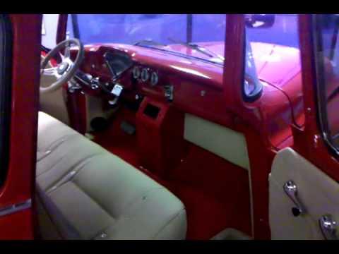 Custom 53 Chevy Truck Interior Youtube