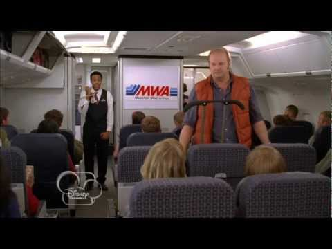 "Good Luck Charlie, It's Christmas! ""Plane Seat"" Clip Official [HD] - Bridgit Mendler"