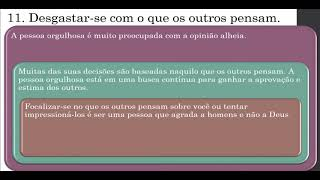 IPUS   AO VIVO   Estudo Bíblico   21/10/2020   A batalha contra o orgulho