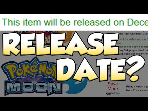 did amazon really leak the pokemon sun and moon release date youtube