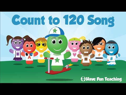 Count to 120 Song (Learn to Count to 120 - Audio)