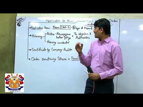 Changes in company law for CA FINAL post NCLT provisions PART -4