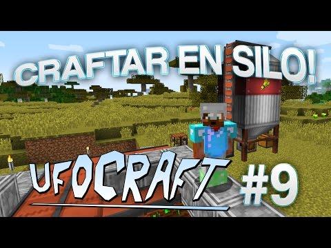 CRAFTAR EN SILO! | Minecraft UfoCraft - #9