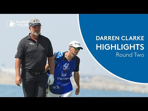 Darren Clarke shoots 67 | Round 2 Highlights | 2018 NBO Oman Open