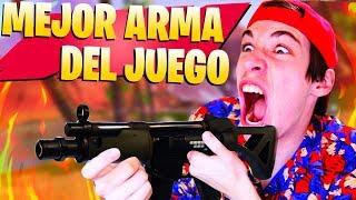 Video de **INCREÍBLE** MI MEJOR PARTIDA CON EL MEJOR ARMA de FORTNITE Battle Royale