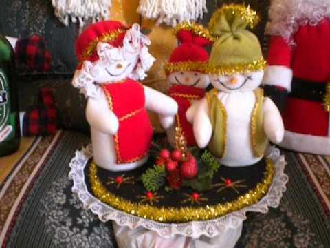 Mu ecos de navidad por lorentizabal1130 youtube - Munecos de navidad ...