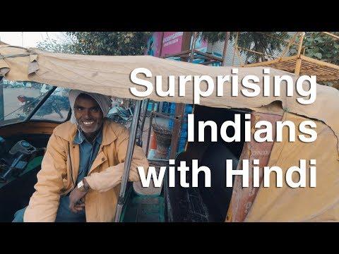 Foreigner Surprising Indians with Hindi (WARNING Smiles Galore!)