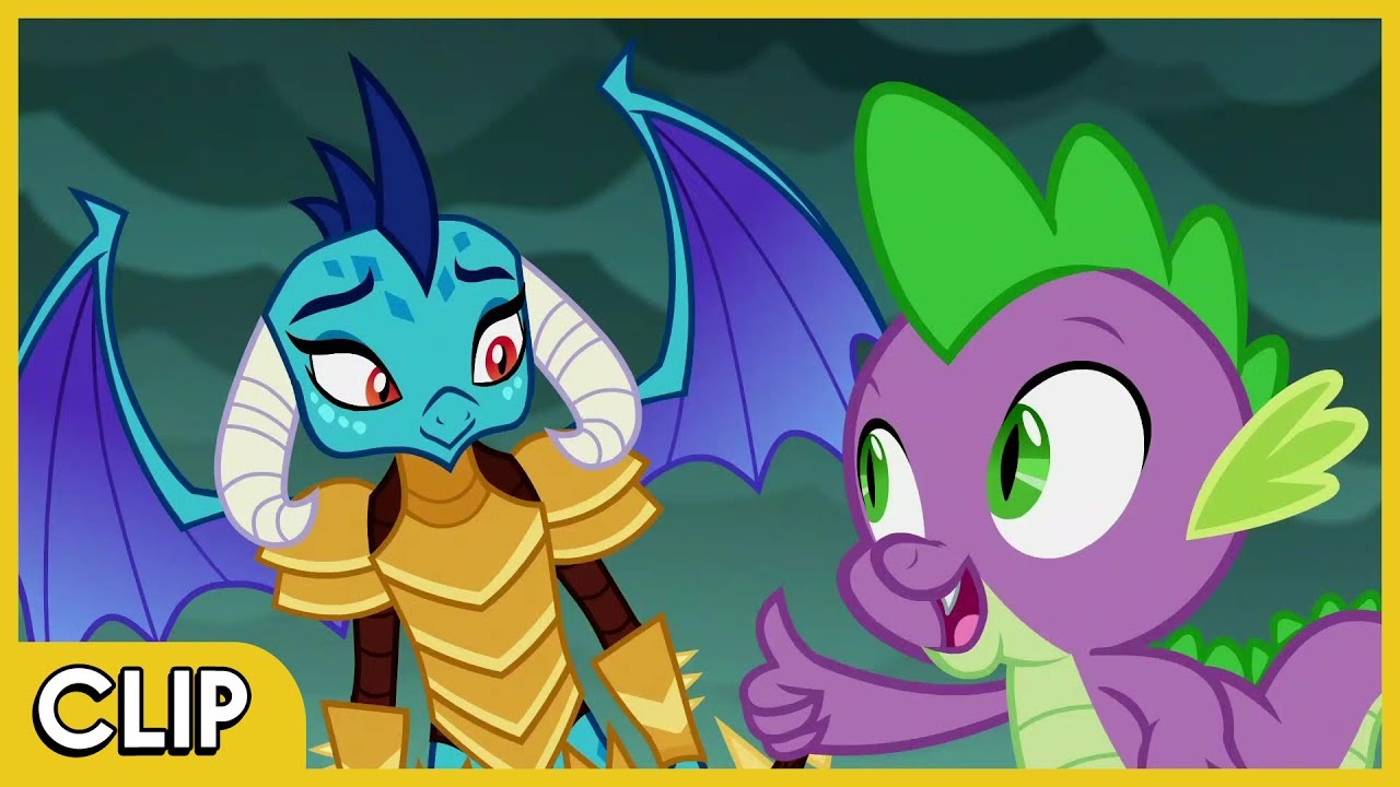 meeting princess ember mlp friendship is magic hd youtube