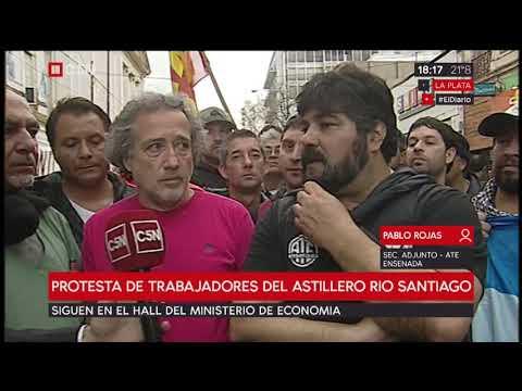 Sindicalistas argentinos se reunieron con Nicolás Maduro en Cuba