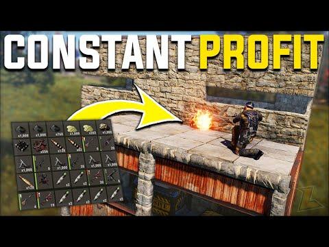 RAIDING THE WEIRDEST BASE DESIGN EVER GAVE US JUICY SULFUR PROFIT - Rust Survival Gameplay | S20-E4 thumbnail
