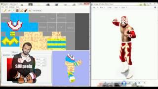 WWE Sin Cara MineCraft Skin SPEED EDIT