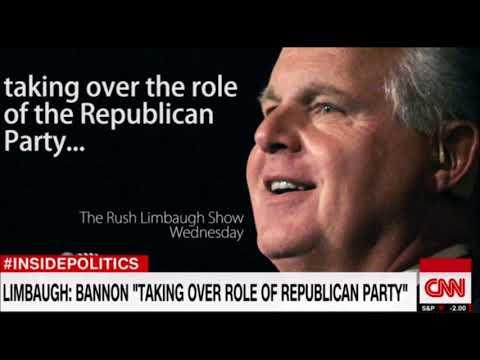 CNN Trying To Make Bannon Seem Like A Svengali (Limbaugh)