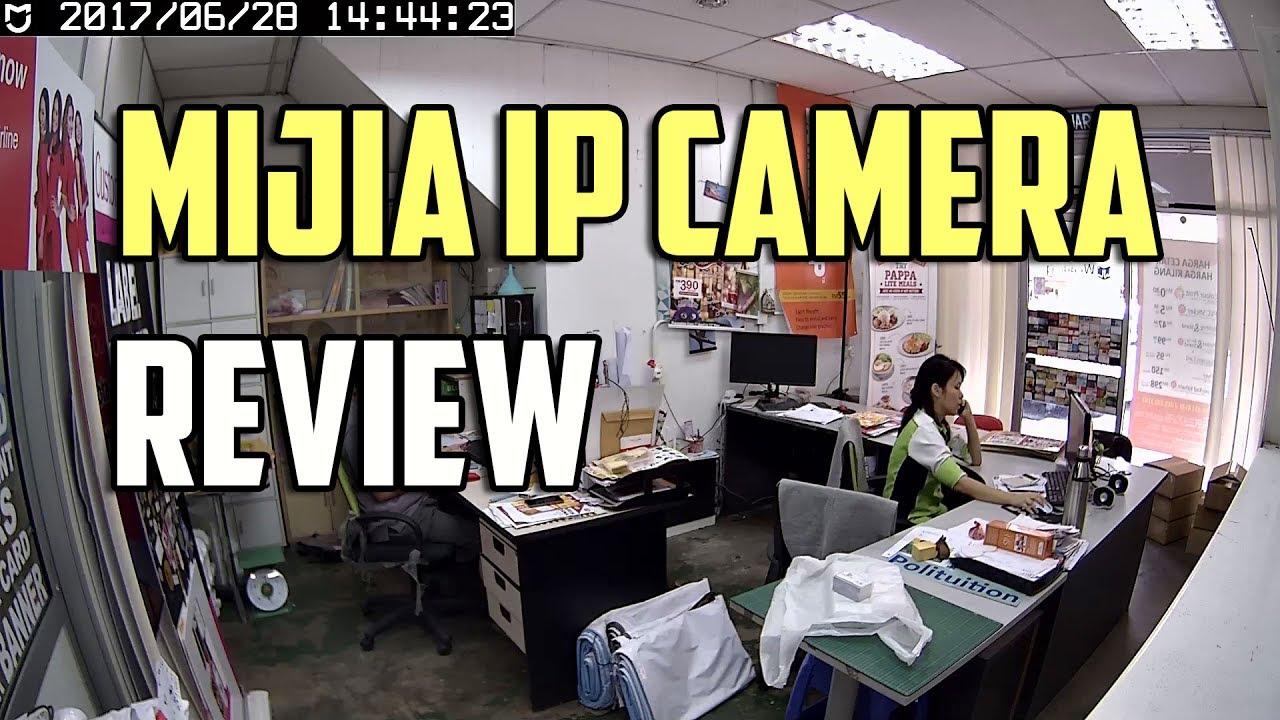 Xiaomi MiJia 1080P Smart IP Camera Review - Day - YouTube