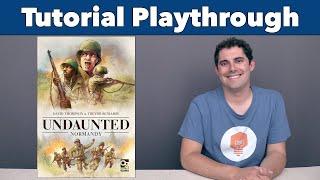 Undaunted: Normandy Tutorial & Playthrough - JonGetsGames