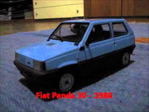 Modellini automobili storiche Fiat 1:24 - Metro.wmv