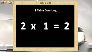 Baixar 2 to 10 single Table Counting