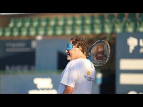 uruguay impulsa el tenis para ciegos