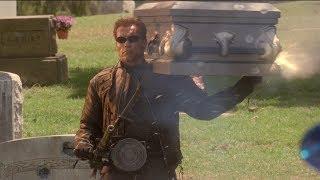 """Терминатор против спецназа - """"Терминатор 3: Восстание машин"""" отрывок из фильма"""
