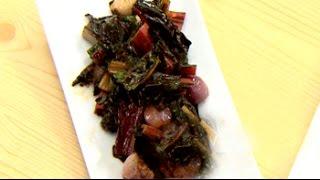 Watch Recipe: Swiss Chard Stir Fry