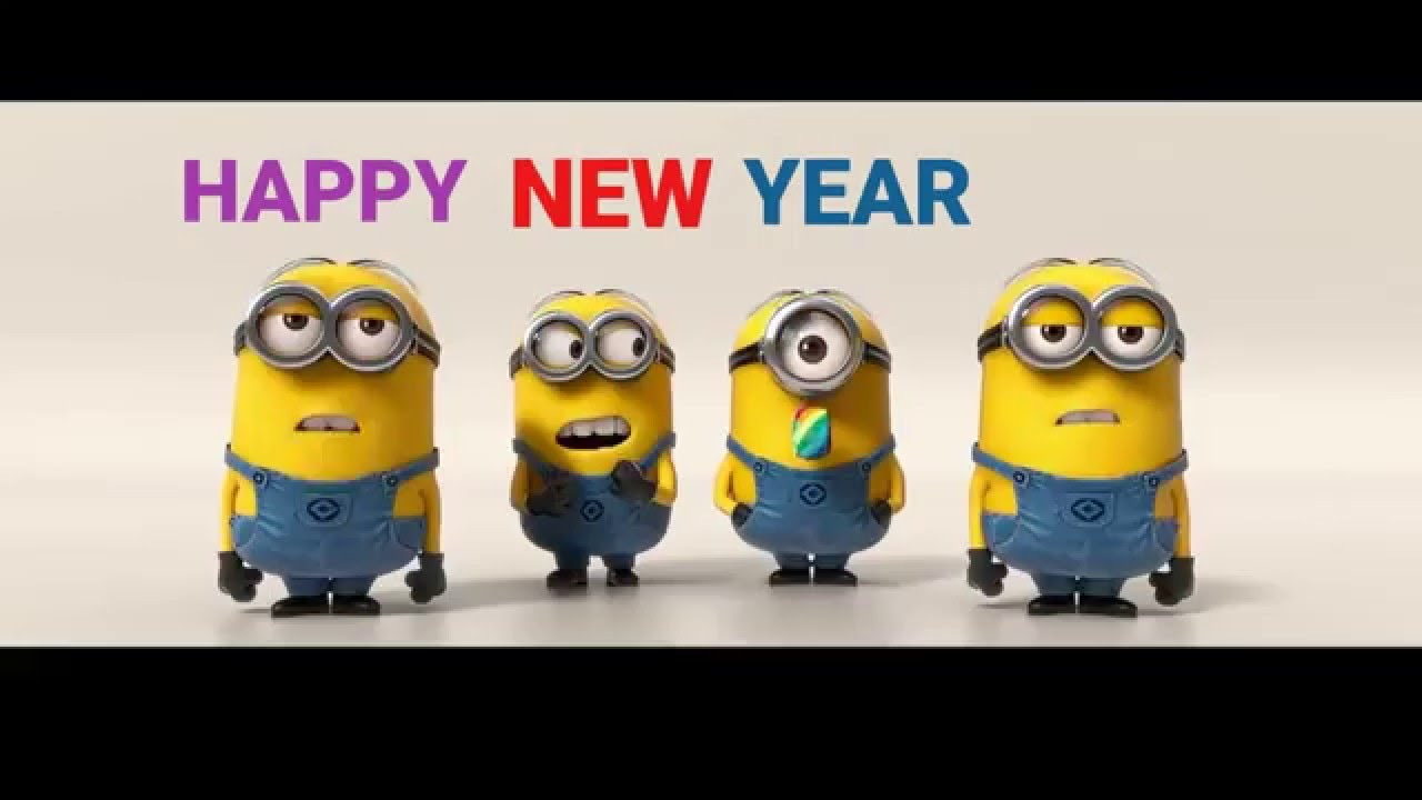 minions silvester 2016 happy new year youtube. Black Bedroom Furniture Sets. Home Design Ideas