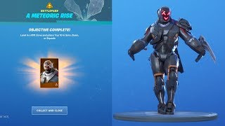 UNLOCKING *NEW* VISITOR SKIN (THE SCIENTIST) Fortnite Mystery Skin Challenges
