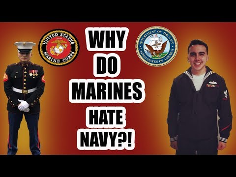 WHY DO MARINES HATE SAILORS?