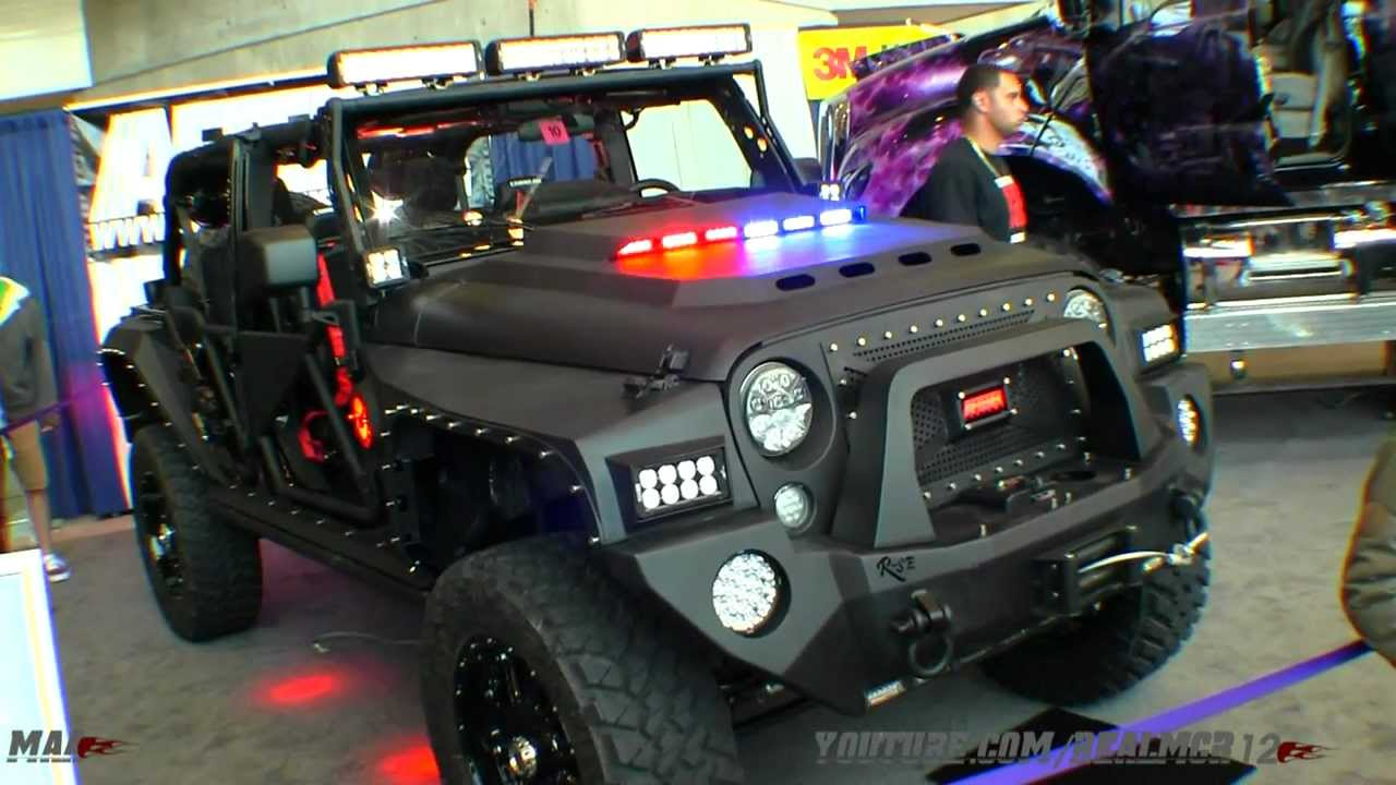 2011 Jeep Wrangler Black Hawk Heavily Modified Call Of