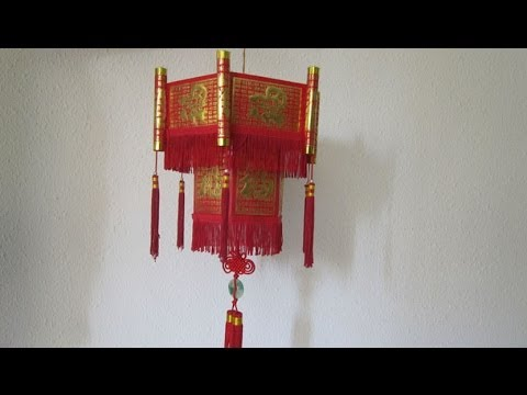 Cny tutorial chinese new year lantern using hong bao for Ang pow decoration craft work