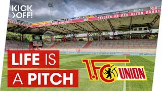 """It's one of the most famous and unique stadiums in germany. """"alte försterei"""" (stadium at old forester's house) is largest single-purpose football..."""