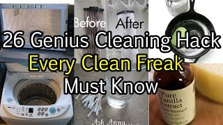 26 Genius Cleaning Hack Every Clean Freak Must Know