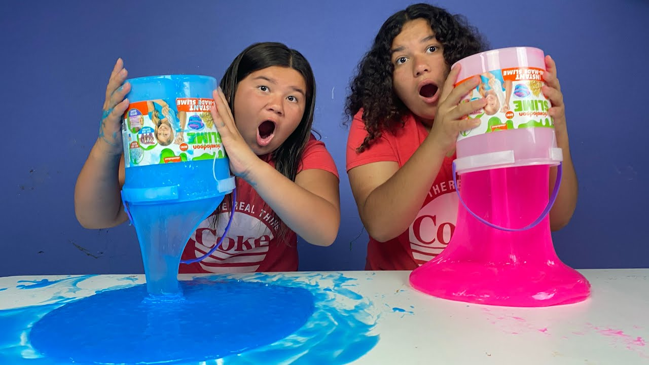 Download FIX THIS 20 POUND BUCKET OF STORE BOUGHT SLIME CHALLENGE!!