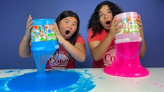 FIX THIS 20 POUND BUCKET OF STORE BOUGHT SLIME CHALLENGE!!