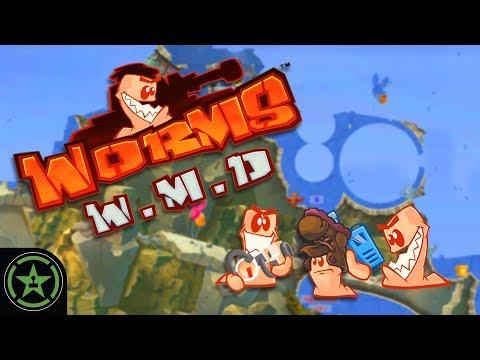 Let's Play  Worms W.M.D.  Dubstep Guns 4  AH Live Stream