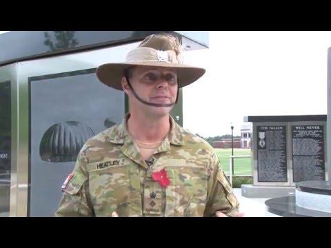 Fort Benning celebrates ANZAC Day