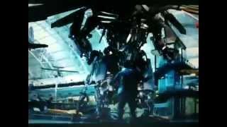 Transformers ROTF - Jetfire Scene