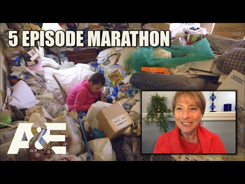 Hoarders Top Episodes MARATHON - Binge Them w/ Dorothy the Organizer! Part 1 | A&E
