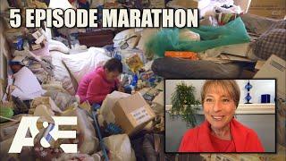 Hoarders Top Episodes MARATHON - Binge Them w/ Dorothy the Organizer! Part 1 | A&E