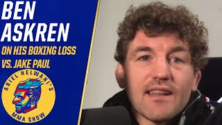 Ben Askren on his loss to Jake Paul, whether he regrets taking fight | Ariel Helwani's MMA Show