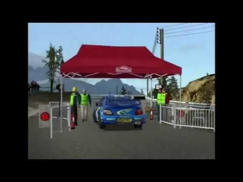WRC 3 PS2 - Road To Championship - Rallye Monte Carlos