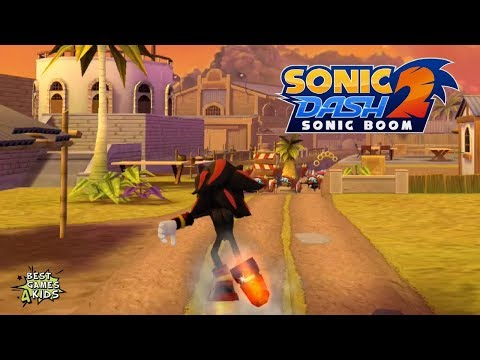 Sonic Dash 2: Sonic Boom | SHADOW'S RUN Challenge #1 By SEGA