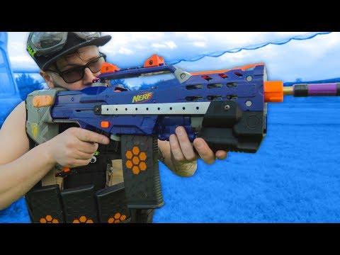 Dylan's Nerf War Loadout & Gameplay