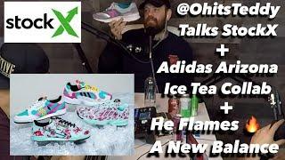 @OhitsTeddy Talks StockX + Adidas Arizona Ice Tea Collab + He Flames Dallas' New Balance 997h